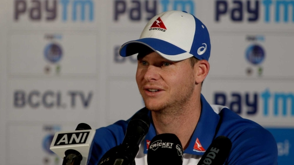 Steve Smith spoke to the media after winning The Ashes in Perth.