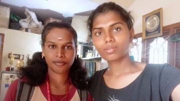 Grace and Tharika Banu.