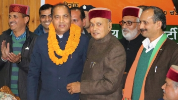 Five-time legislator Jairam Thakur is all set to be the chief minister of Himachal Pradesh.