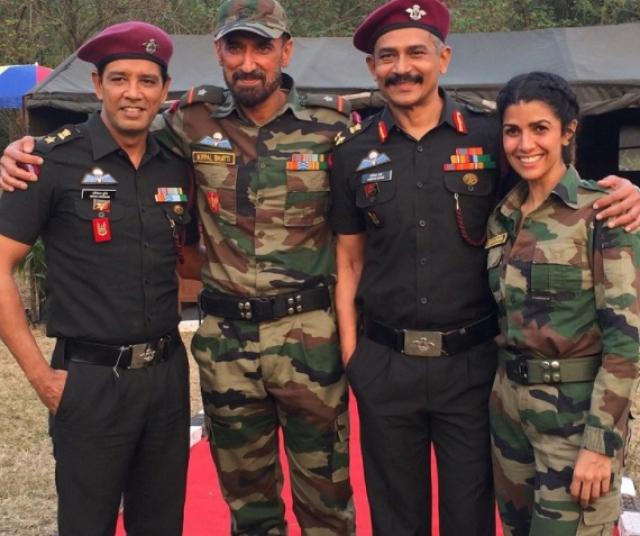 Nimrat comes from a defence background and dreamed of being an army officer.