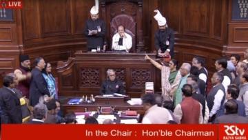 The opposition cornered the BJP on Anantkumar Hegde's remark on secularism.