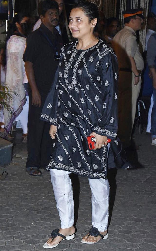 Rani Mukerji at the venue.