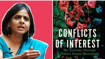 Sunita Narain's 'Conflicts of Interest' looks at major environmental issues in the country like air pollution, waste management, climate change and pesticides in aerated drinks in a historical context