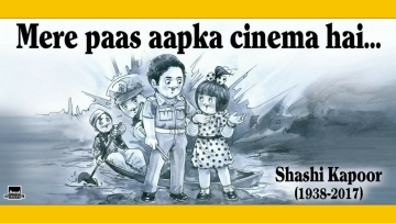 Amul pays a touching tribute to Shashi Kapoor.