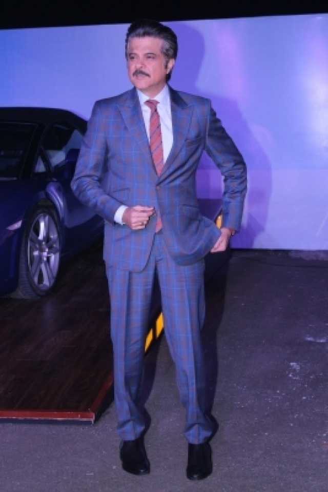 """Mumbai: Actor Anil Kapoor at red carpet of the screening of Amazon Original - """"The Grand Tour"""" second series hosted by him, in Mumbai, on Dec 9, 2017. (Photo: IANS)"""
