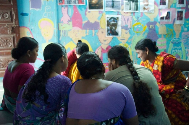 The Dharavi Art Room, give a voice to the women who are silenced everyday.