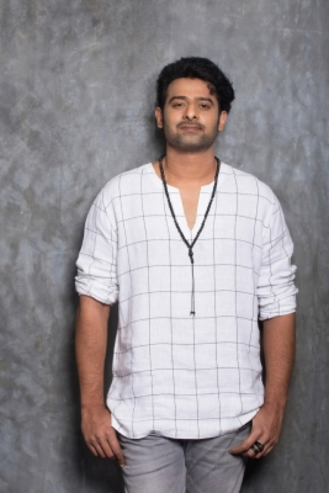 Hyderabad: Actor Prabhas stills in Hyderabad. (Photo: IANS)