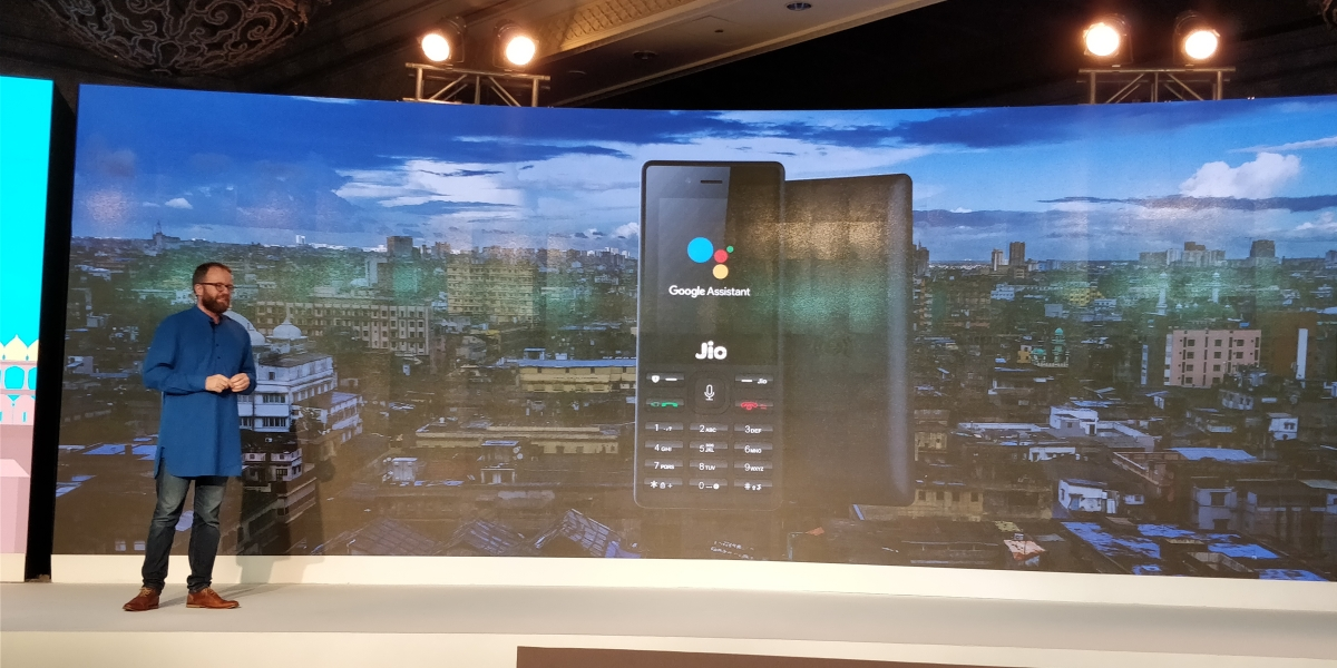 Google Taps Into Reliance JioPhone for Google Assistant, but Why