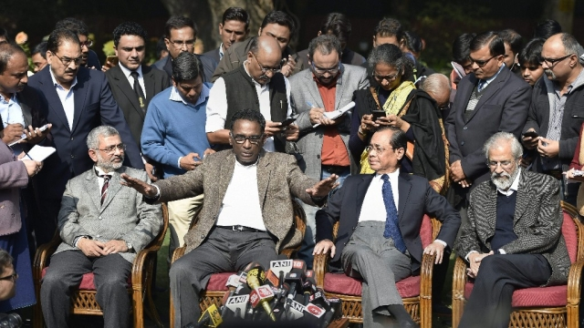 SC Justices Jasti Chelameswar, Ranjan Gogoi, Madan Lokur and Kurian Joseph appealed to the nation to preserve the independence of the judiciary on 12 January.
