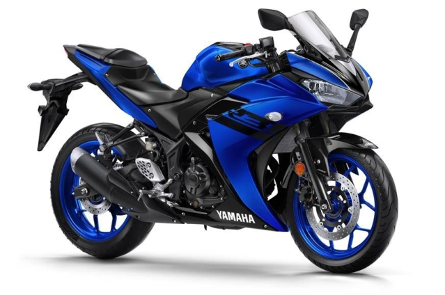 The Yamaha YZF-R3 was originally introduced in 2015