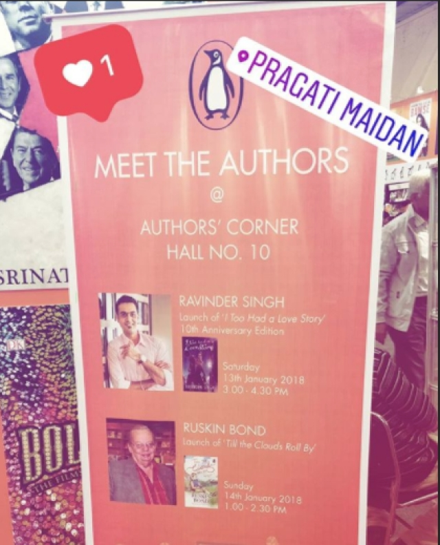 The authors you can meet this time.