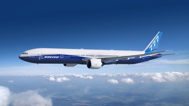 The Boeing 777-300ER has a range of 13,650 Km.