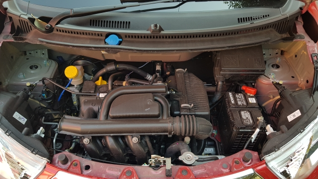 Datsun uses a one-litre Redi-Go engine.