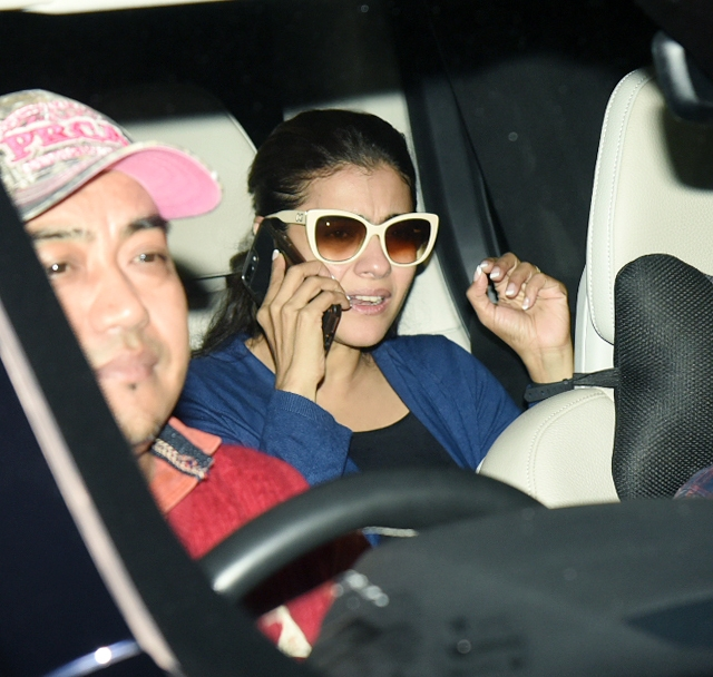 Kajol watched <i>Padmaavat </i>on Thursday night.