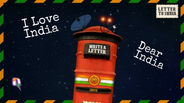 Feeling nostalgic or spoofy? Write a letter to India and pour your heart out. (Design: Harsh Sahani/<b>The Quint</b>)