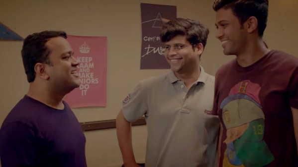 A still from the AIB sketch <i>My Friend Revisor.</i>