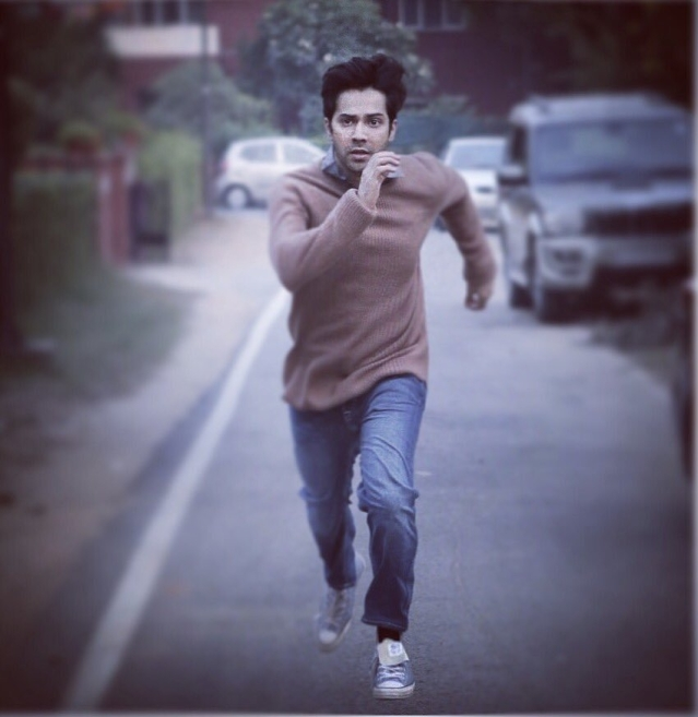 Varun Dhawan in a still from <i>October</i>.