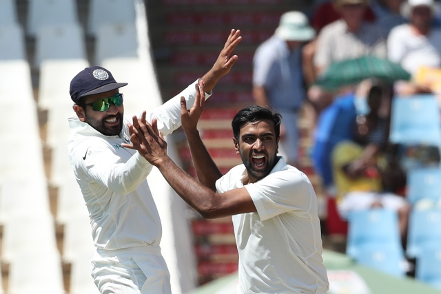 Off-spinner Ravichandran Ashwin snared three crucial wickets on Day 1.
