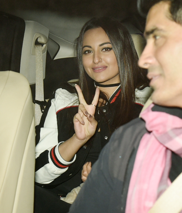 Sonakshi Sinha at the screening.