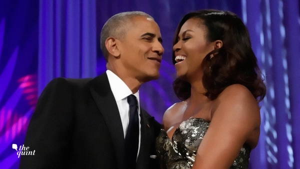 Barack and Michelle Obama have never shied away from PDA. (Photo: Reuters)