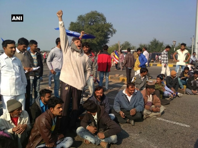 Protesters block Rajkot-Somnath National Highway near Junagadh