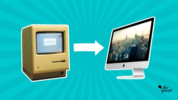 Macintosh then and now.