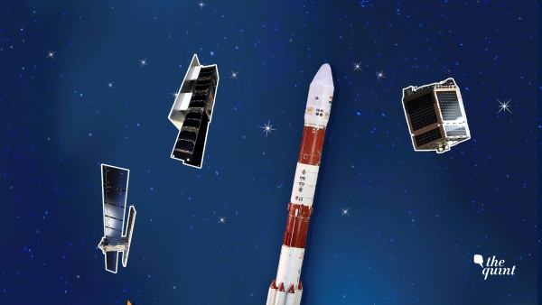 ISRO is launching its 100th satellite into space, the PSLV-C40