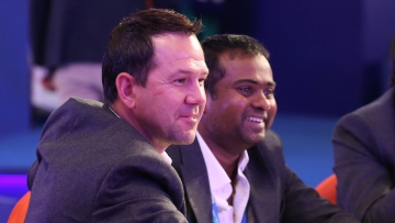Delhi Daredevils' coach Ricky Ponting reacts during the IPL 2018 Auction.