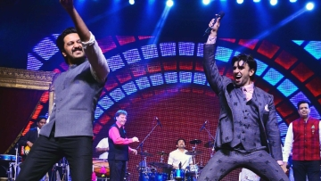 Riteish Deshmukh and Ranveer Singh set the stage on fire at the ICD event.