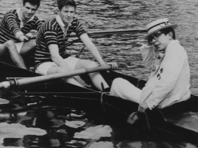Hawking was part of the Oxford rowing team.