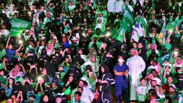 Saudi women were allowed into a sports stadium for the first time on Friday, 12 January, to watch a soccer match.