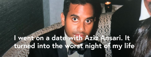 "A screen-grab of the <a href=""https://babe.net/2018/01/13/aziz-ansari-28355"">Babe</a> piece that published Grace's account."