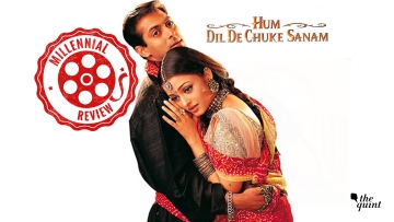 Salman Khan and Aishwarya Rai in <i>Hum Dil De Chuke Sanam</i>.