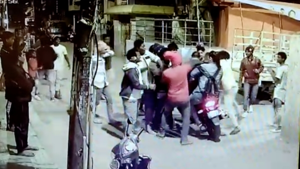 Mob attack in Bengaluru.