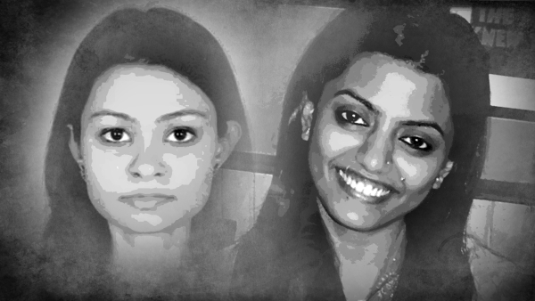 Jigisha Ghosh (left) was abducted and murdered in 2009 while Soumya Vishwanathan (right) was killed in 2008.