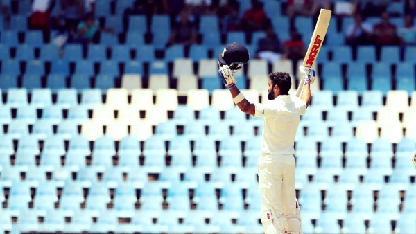 Virat Kohli scored his second century in South Africa on Monday in Centurion.