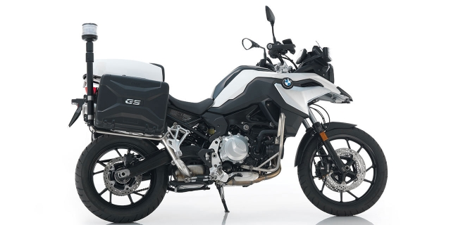 The BMW F 750 GS comes with a parallel-twin engine
