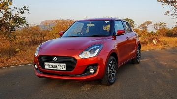 The all-new 2018 Maruti Suzuki Swift looks a lot like the Dzire upfront, but yet has its visual differences.