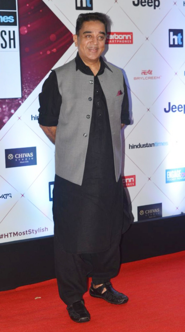 Kamal Haasan on the red carpet.