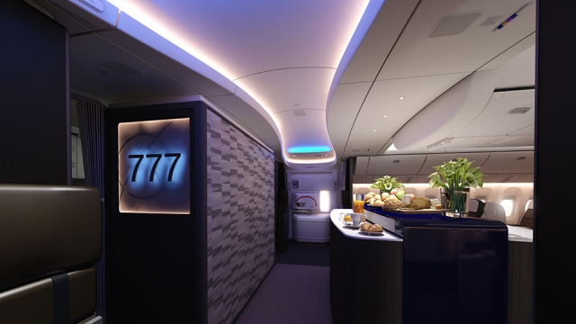 The plane will get a special in-flight kitchen and executive room for VVIPs.