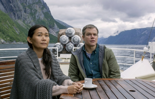 Matt Damon is a delight to watch, along with Hong Chau.
