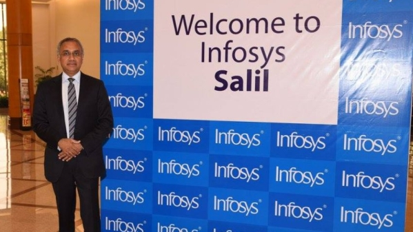 Infosys welcomes Salil Parekh