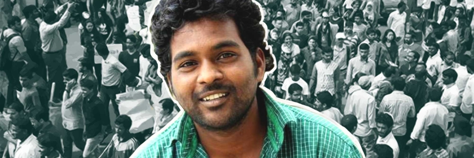 With Empty Pockets, Rohith Vemula's Friend Vijay Kumar to Contest