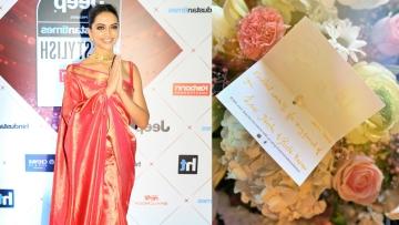 Deepika Padukone was congratulated for her work in <i>Padmaavat</i> by Neetu and Rishi Kapoor.