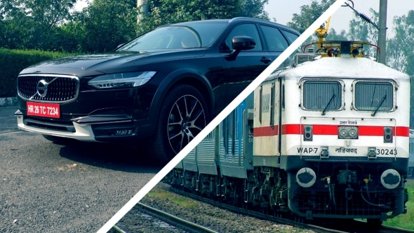 An unconventional car challenges India's fastest train in an amazing race to the Taj Mahal. Who wins?