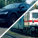 Race to the Taj Mahal: Gatimaan Express vs Volvo V90 Cross Country