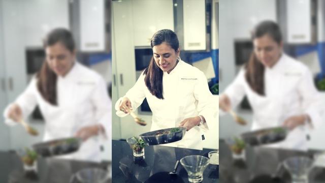 Anita Kerai is a Kenyan-Gujarati chef.