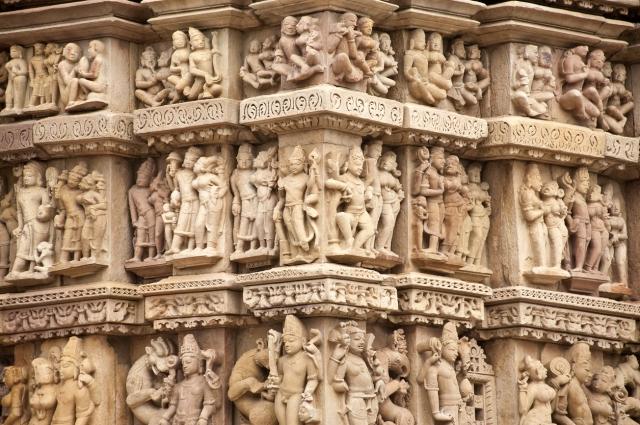 Parsvanath Jain Temple in Khajuraho.