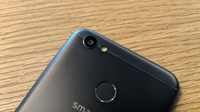A 13-megapixel camera at the back.