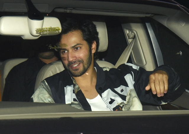 Varun Dhawan also watched <i>Padmaavat.</i>